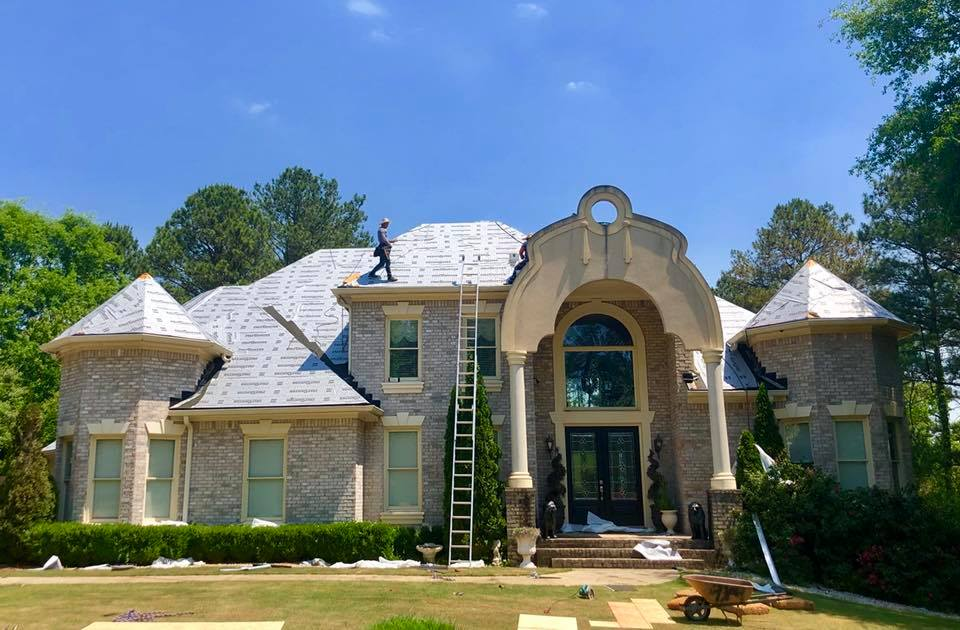 roof replacement from the Assurance Residential crew.